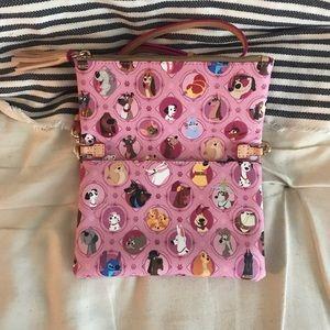 Dooney & Bourke Bags - Dooney & Bourke Disney Dogs Crossbody - Pink